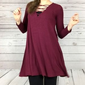 American Eagle Soft and Sexy Dress Long Sleeve